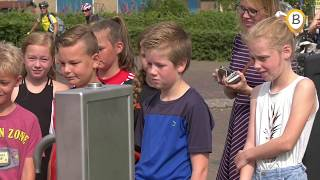 opening watertappunt aan de haven in Elburg movie