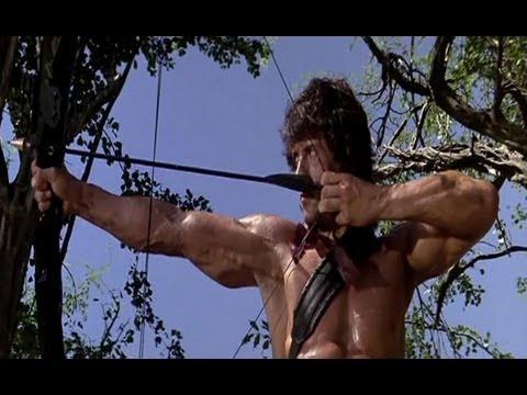 Cine: El uso de arcos y flechas en La Noche De...