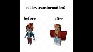 Roblox transformation!!