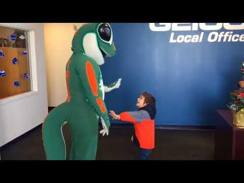 Watch this autistic Palmer Township boy, 5, meet his gecko idol (VIDEO)