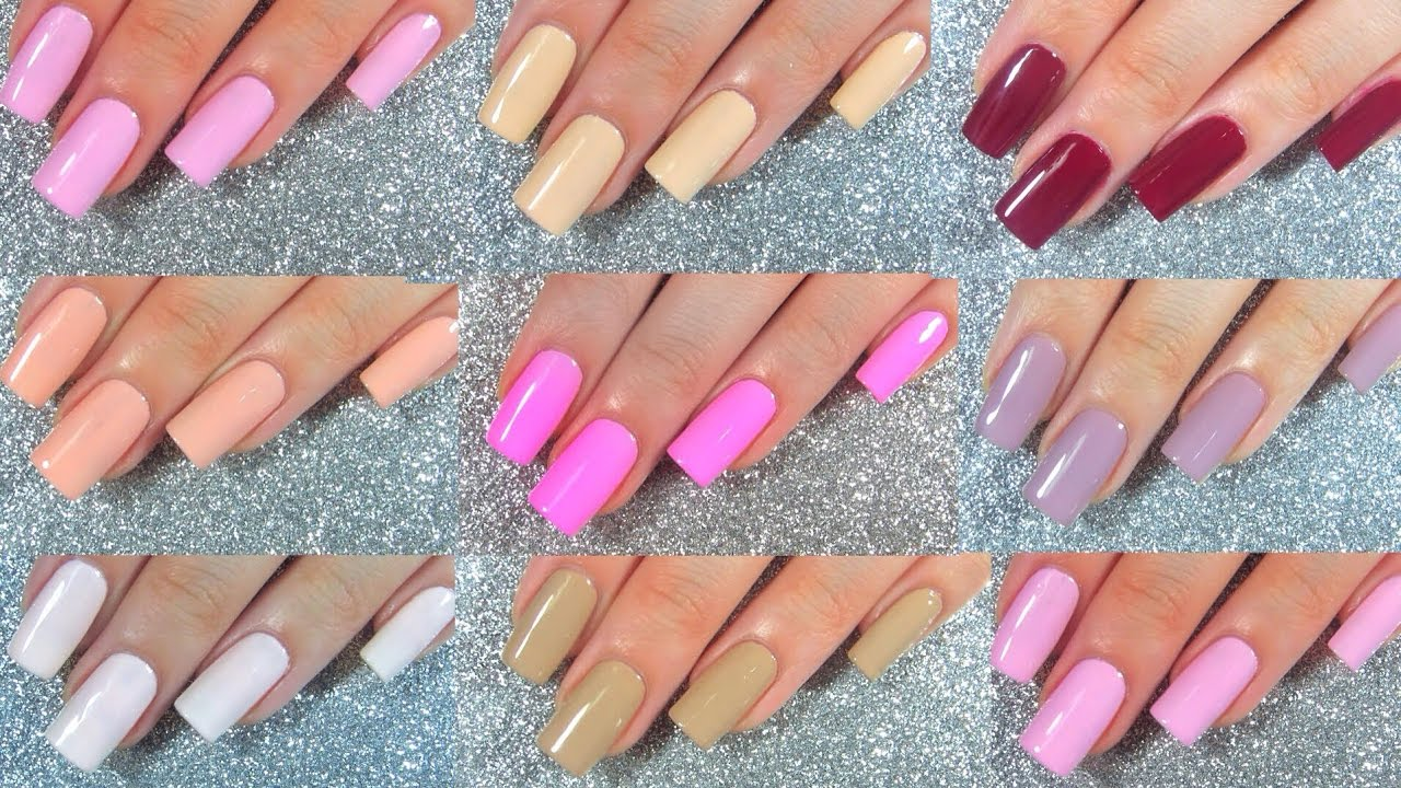 Pretty Woman NYC Nail Polish Live Swatches Review - YouTube