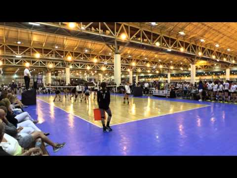 Lauren Evans playing RAGE during GNJC 2015 Open Division Pool Play