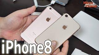 【iPhone8】6sからの機種変!見た目は一緒(笑)