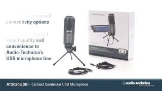 AT2020USBi Cardioid Condenser USB Microphone