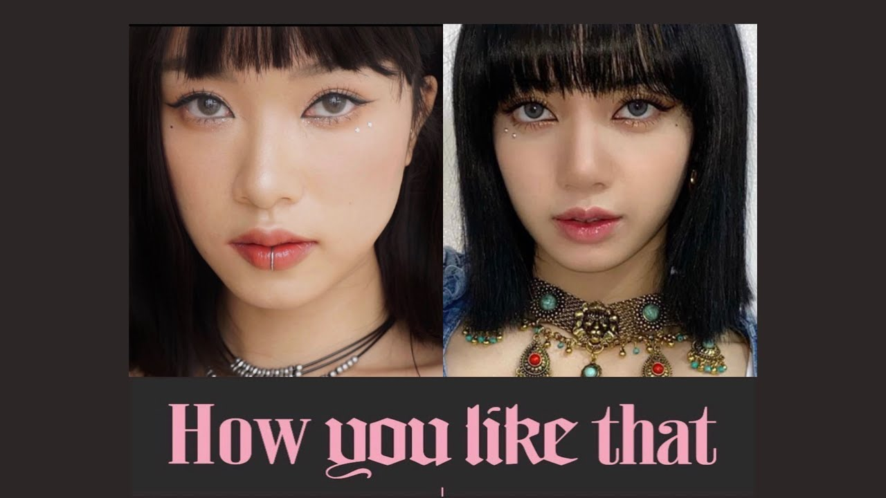 HOW YOU LIKE THAT | LISA MAKE UP LOOK | LINGMAKEUP