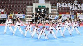 170731 K타이거즈 주니어 태권체조 결선 Burn Break Crash + Happy (K-tigers junior Taekwon Aerobic) [세계태권도한마당] by 비몽