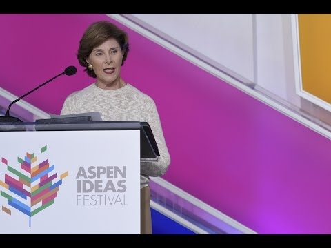 In Conversation With Former First Lady Laura Bush: Voices of Hope