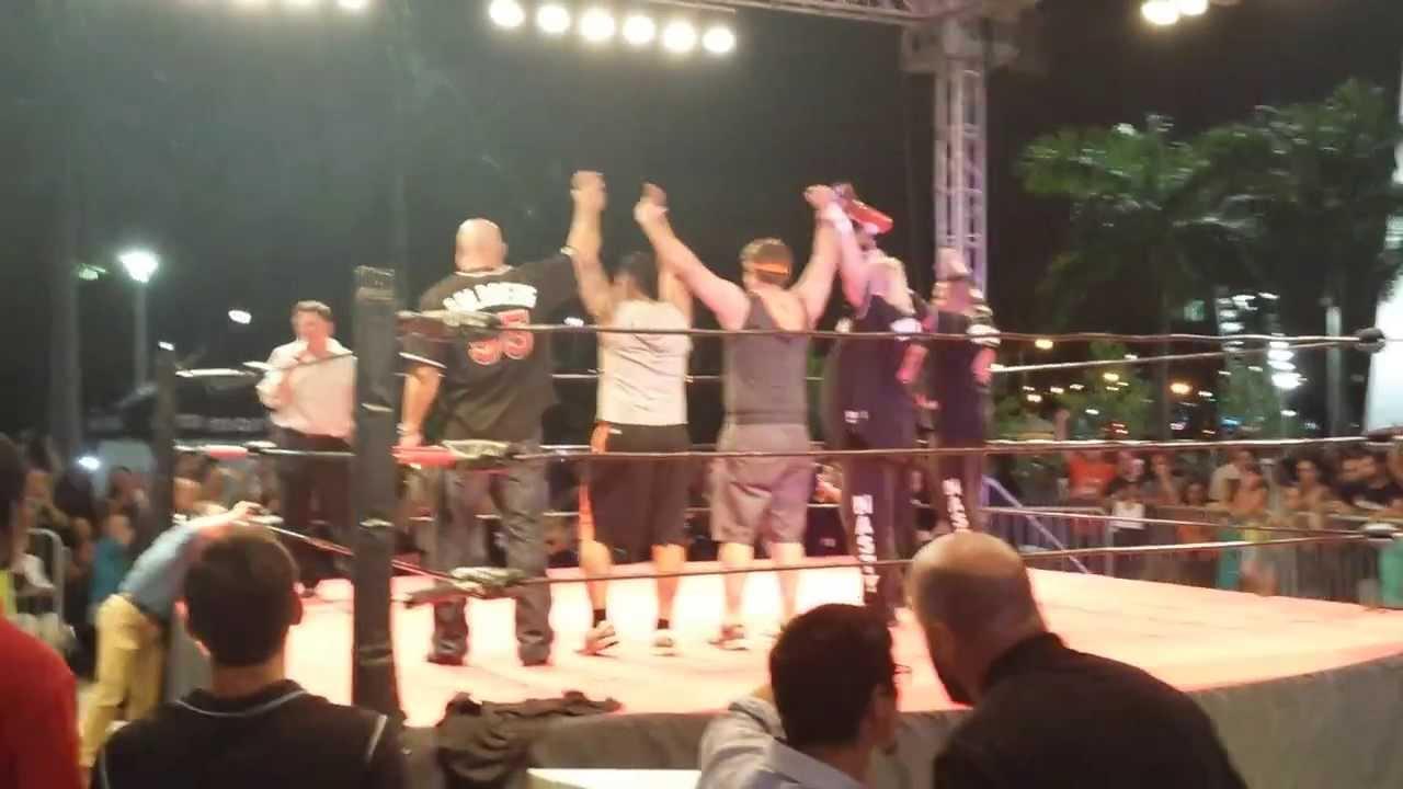Legends of Wrestling Night Main Event Marlins Park!