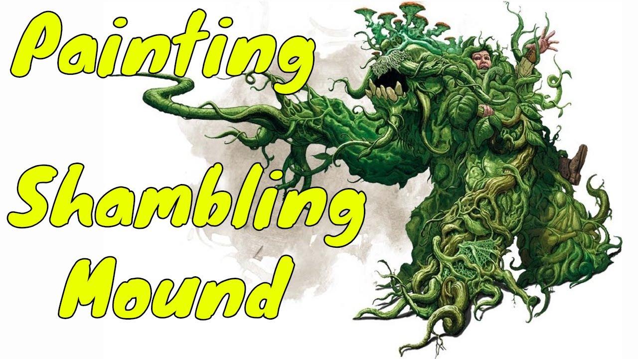Dungeons /& Dragons D/&D Nolzurs Marvelous Miniatures Shambling Mound