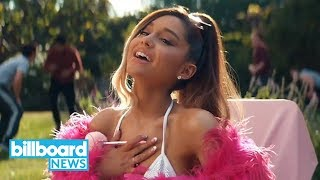 Ariana Grande Dominates Hot 100 Again, Mariah Carey's 'Christmas' Dashes to New High| Billboard News