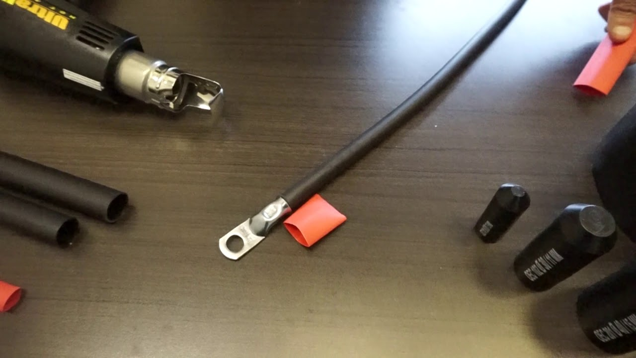 Adhesive Lined Heat Shrink Tubing Youtube Wiring Wrap