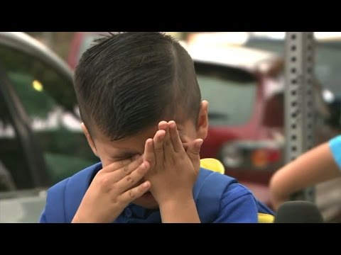 Los Angeles Reporter Makes Pre-K Kid Cry on First Day of Sch