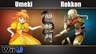 闘龍門 #38 Umeki(Peach) Vs. Rokkon(Sheik) - スマブラforWiiU | Smashlog