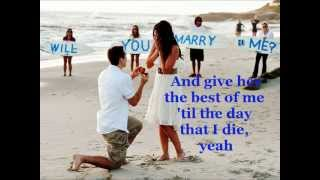 ♫♥♪ I Wanna Marry Your Daughter ♫♥♪ -Brian McKnight (Lyrics)