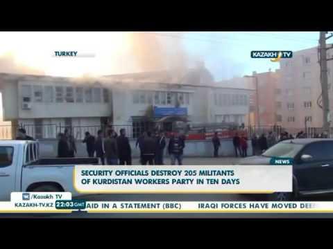 Security officials destroy 205 militants of Kurdistan workers party in ten days - Kazakh TV