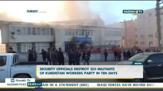 Security officials destroy 205 militants of Kurdistan workers party in ten days - Kazakh TV