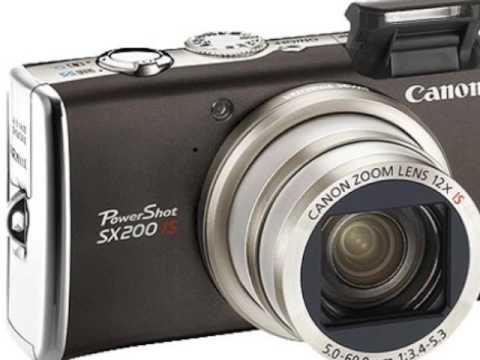 Canon PowerShot SX200 IS Test