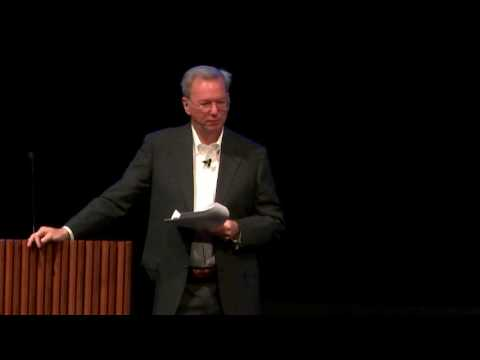 Eric Schmidt, Building Artifical Intelligence for the Good of Humanity
