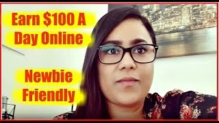 How To Make $100 A Day Online - Earn Money Online Fast With Email Processing 2018