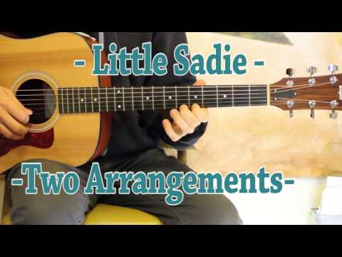 Little Sadie - Guitar Lesson - Doc Watson and Tony Rice Style