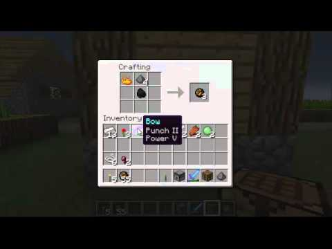 Minecraft How To Make A Fire Charge Youtube