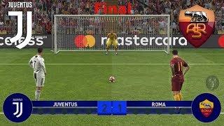 Juventus Vs Roma Finale di Champions League (Calci di rigore) | PES 2019 Patch [Giù]