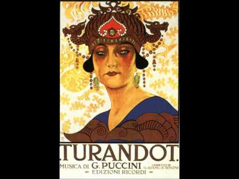 Turandot Finale Traditional Cuts
