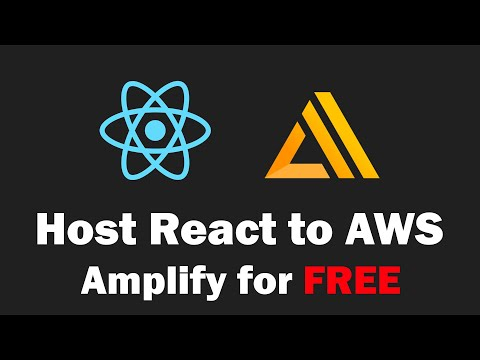 How to Deploy React App to AWS Amplify for FREE