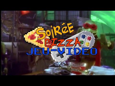 Soirée Pizza/Jeux-vidéo sur Nintendo land avec Fred Seb et Bob