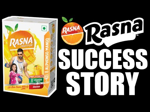 Rasna(Soft Drink Concentrate) Success Story In Hindi | Indian Brand's Success Story | Rk Biography