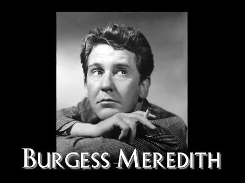 Movie Legends  Burgess Meredith