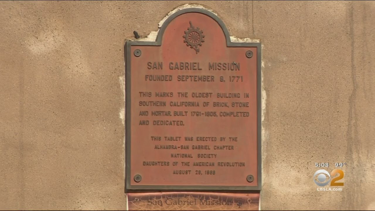 Fire Damages Nearly 250-Year-Old San Gabriel Mission