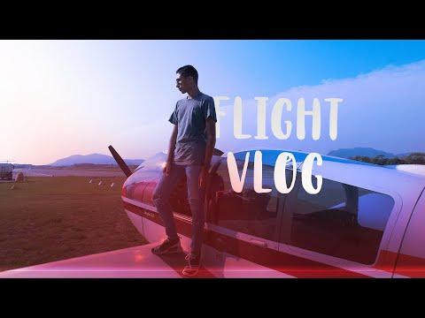 FUTUR PILOTE DE LIGNE au commandes en AVIATION GÉNÉRALE! - Cannes Mandelieu FLIGHT VLOG!
