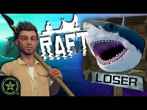 We're Shark Head Hunters Now - Raft (New Update): Part 3
