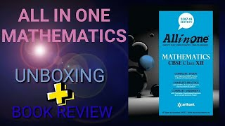 ALL IN ONE MATHEMATICS FOR CLASS 12 UNBOXING REVIEW FULL DETAILS IN HINDI