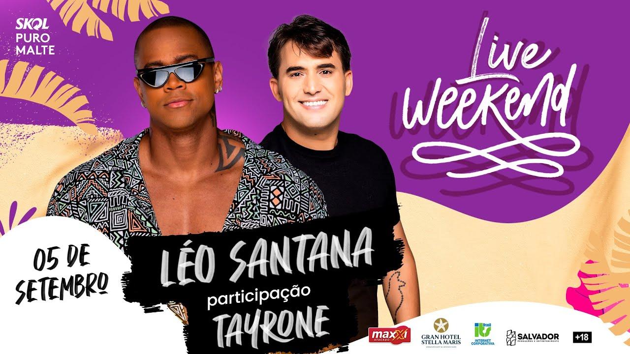 Live Weekend ☀️ | Léo Santana (OFICIAL) - Em Casa #Comigo