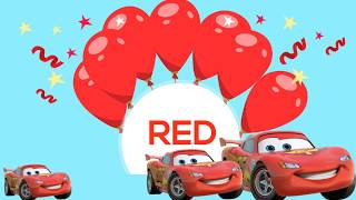 Learn Colors with Disney cars