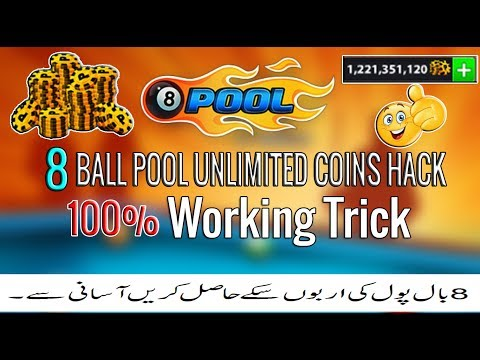 8 Ball Pool Unlimited Free Coins Trick Best Old Method Try It Now!