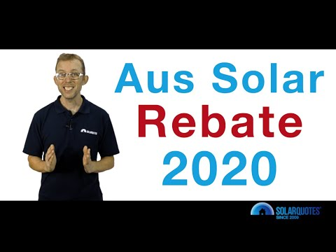 All About The Australian Solar Rebate (2020)