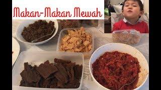 Makan2 mewah Oleh2 dari Indonesia!    Daily vlog