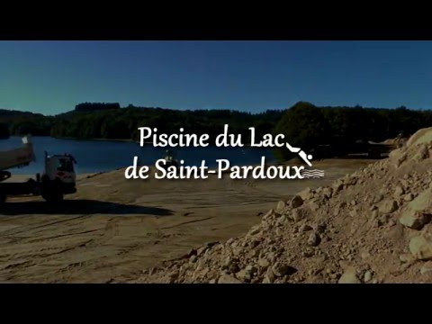 La piscine de saint pardoux les travaux avancent youtube - Piscine de saint galmier ...