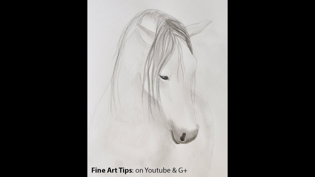 How To Paint A Horse With Chinese Ink  How To Draw A Horse