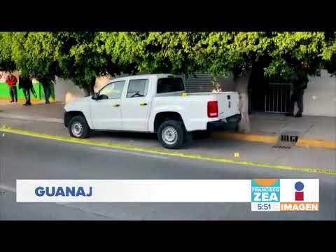 Balean oficinas de la Fiscalía General de la República en Irapuato | Noticias con Francisco Zea