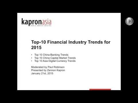 2015 Top-10 China Financial Technology Trends