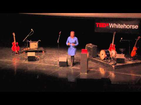 Who am I kidding? I was born in a tent: Diyet at TEDxWhitehorse