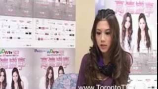 20091229, Chrissie Chow, 周秀娜, @多倫多, interview