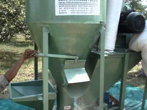 Verical Mixer & Grinder for animal feed, mixer grinder,poultry feed grinder