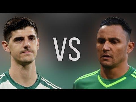 Thibaut Courtois VS Keylor Navas - Who Is The Best? - Amazing Saves - 2018