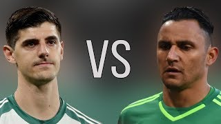 Thibaut Courtois VS Keylor Navas - Who Is The Best? - Amazing Saves - 2018