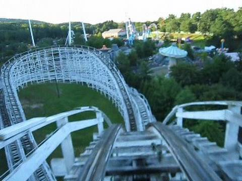 Wildcat Front Seat on-ride POV Lake Compounce